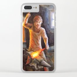The Bladesmith Clear iPhone Case