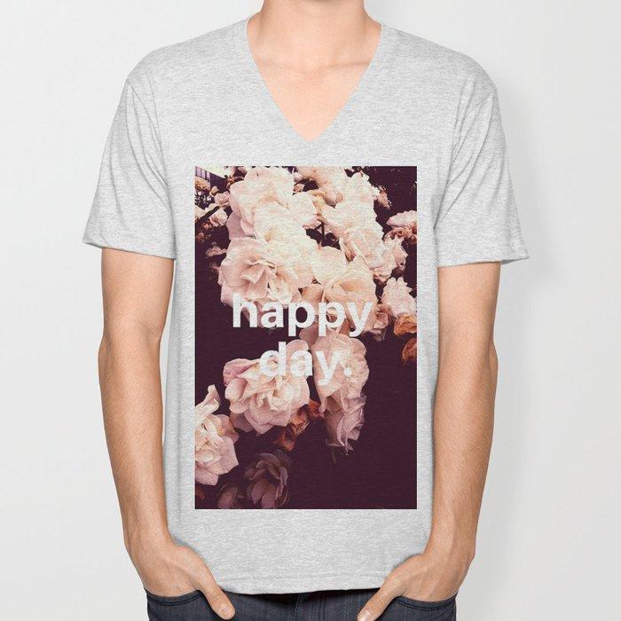 Happy Day Unisex V-Neck
