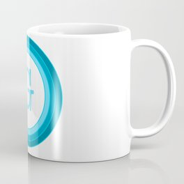 Blue letter G Coffee Mug