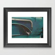 Old Ford Truck - Detail Obsolete Framed Art Print