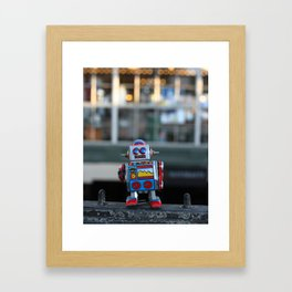 urban bot Framed Art Print
