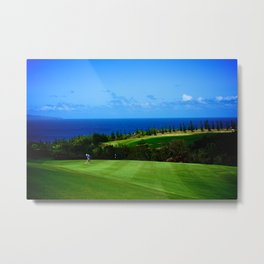 Hawaii, Maui - Swing Harder (Golf) Metal Print