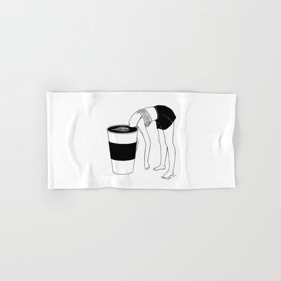 Coffee, First Hand & Bath Towel