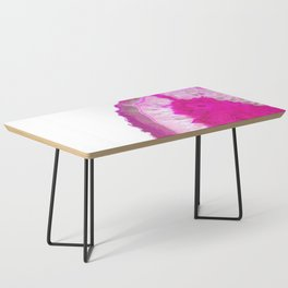 Druze Pink Agate Coffee Table