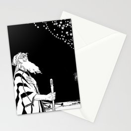 Abraham Contemplates the Stars Stationery Cards