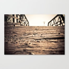 Old Train Bridge #2 Canvas Print