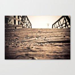 Old Train Bridge #2 Canvas Print
