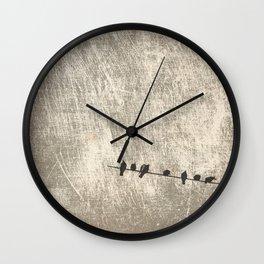 Doves, palomas Wall Clock