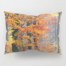 Colorful Autumn Fall Forest Pillow Sham