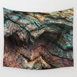 Brookings, Oregon - Seaside Cliff Wall Tapestry