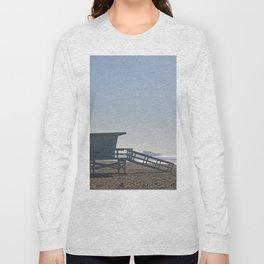 Santa Monica Beach Long Sleeve T-shirt