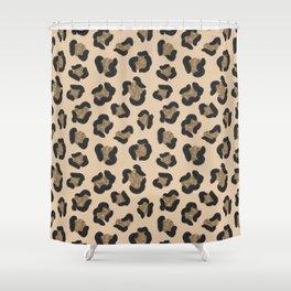 Leopard Print Pattern Shower Curtain