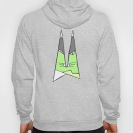 Green cat Hoody