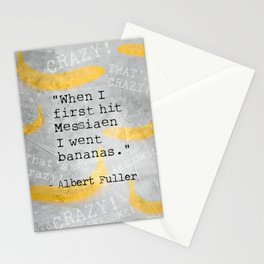 Albert F. quote Stationery Cards
