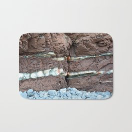 Colourful Rock Abstract Bath Mat
