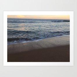 Clear water, Collaroy Beach, NSW, Australia Art Print