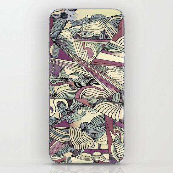 When my Mind Goes Boom. iPhone & iPod Skin