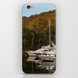 Empire Marina, Bobbin Head, Ku-ring-gai Chase National Park, Sydney iPhone Skin