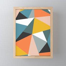 Modern Geometric 36 Framed Mini Art Print