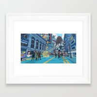 inside gaming Framed Art Prints featuring PC Gaming Part 2 - President Tunt Edition by the10s