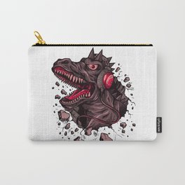 Dino with Headphones Finn Carry-All Pouch