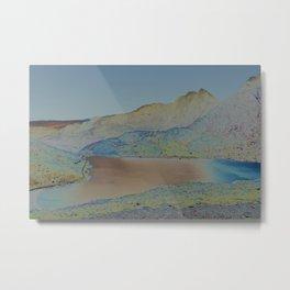 Chromascape 16: Snowdon Metal Print