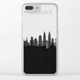 City Skylines: Kuala Lumpur Clear iPhone Case