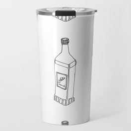Tequila Pattern Travel Mug