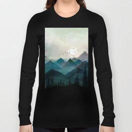 Mountain Sunrise II Long Sleeve T-shirt