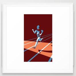 Eric Liddell Framed Art Print
