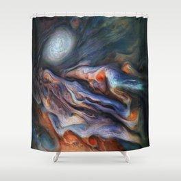 The Art of Nature - Jupiter Close Up Shower Curtain