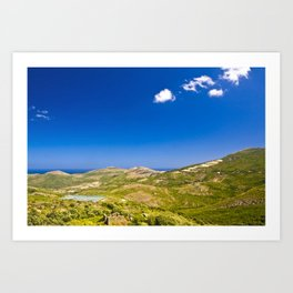 Corse 2.6 Art Print