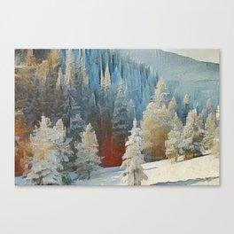 """First Snow"" Canvas Print"