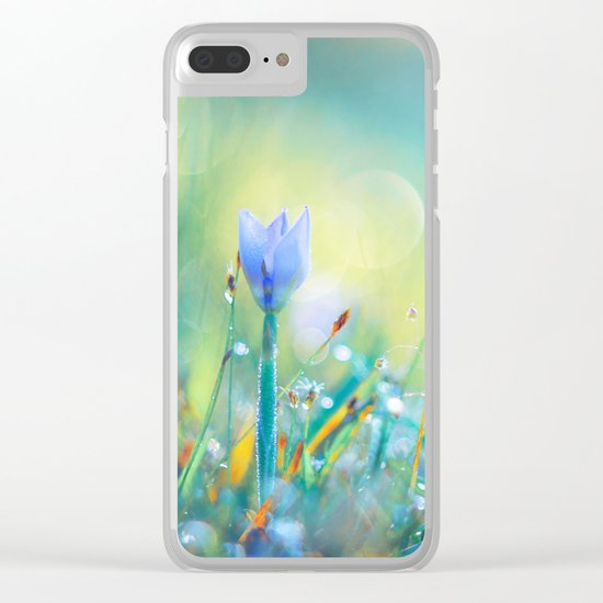 The Lady of Sun Clear iPhone Case