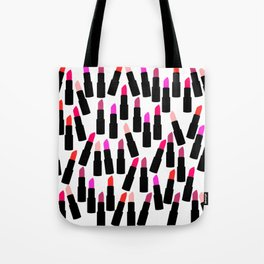 Cute Lipstick Tote Bag