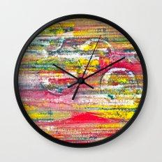 SpeedBall Wall Clock