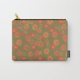 abstract pattern with suns Carry-All Pouch