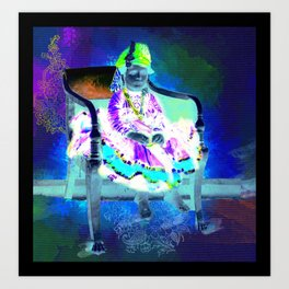 The Maharaja shouldn't have spoiled me, if he wants me to behave Art Print