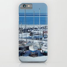Sailboats in Winter iPhone 6s Slim Case