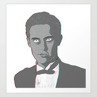 dale cooper Art Prints featuring Special Agent Dale Cooper by Aileen Swansen