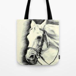 Horse-portrait Tote Bag