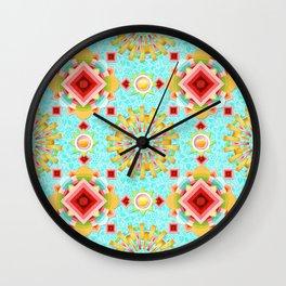 Provence Glow Wall Clock