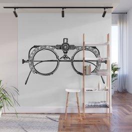 Glasses Wall Mural