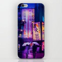 Tokyo Nights / Valentines Day / Liam Wong iPhone Skin