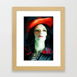 SALLY PORCELAIN #2 Framed Art Print