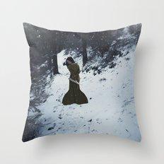 Permafrost Throw Pillow