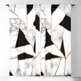Marble III 003 Blackout Curtain