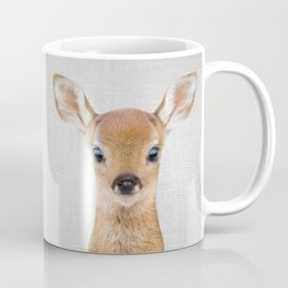 Baby Deer - Colorful Coffee Mug