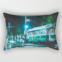 Trolley - Memphis Photo Print Rectangular Pillow
