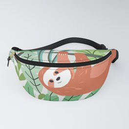 Jungle Sloth Fanny Pack